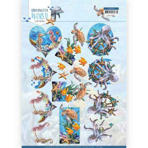 Amy Design - Underwater World - Sea Animals  CD11497