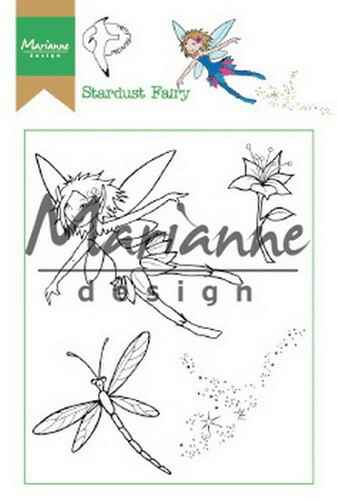 Clear stamp Hetty`s stardust fairy - HT 1644