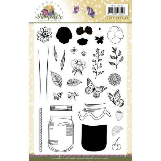 Clear Stamps - Blooming Summer  PMCS10040