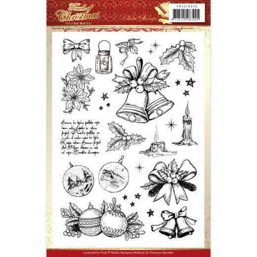 Clear Stamps - Precious Marieke - Touch of Christmas  PMCS10045