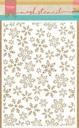 Mask stencil ice crystal - PS8011