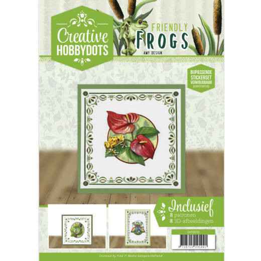 Creative Hobbydots 10 - Amy Design - Friendly Frogs   CH10010