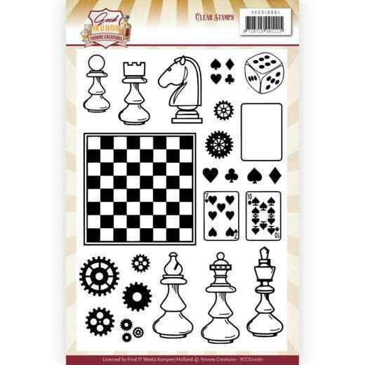 Clear Stamps - Yvonne Creations - Good old day's    YCCS10061