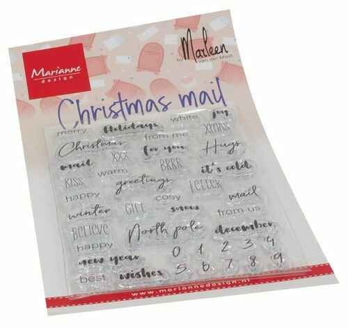 Clear Stamps Christmas mail by Marleen (ENG) CS1070