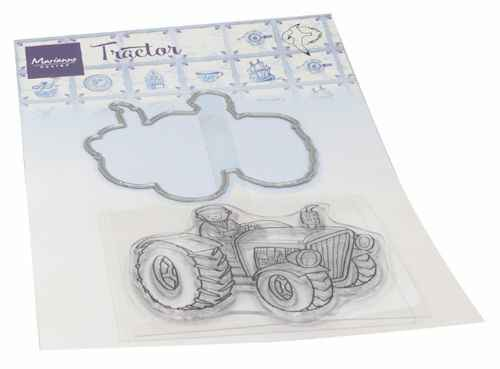 Clear stamp Hetty's tractor  HT 1654
