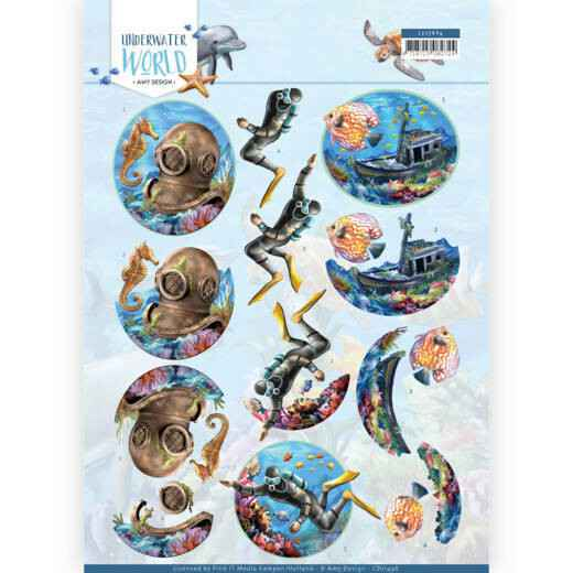 Amy Design - Underwater World - Deepsea Diving CD11496