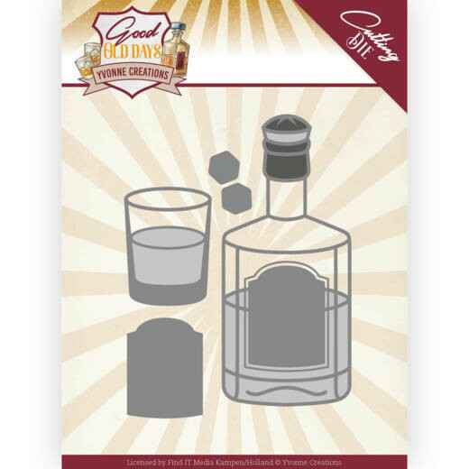 Yvonne Creations - Good old day's - Whiskey    YCD10221