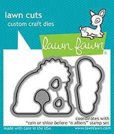 Lawn Fawn Rain or Shine Before 'n Afters Dies (LF1889)