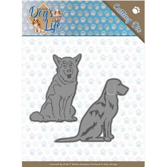 Amy Design - Dogs - Sitting Dogs  ADD10189