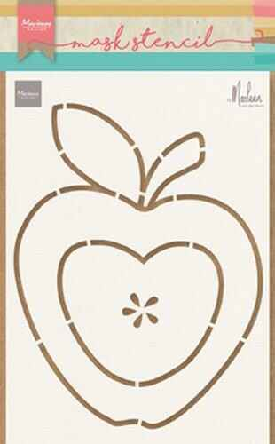 Mask stencil apple by Marleen - PS8013