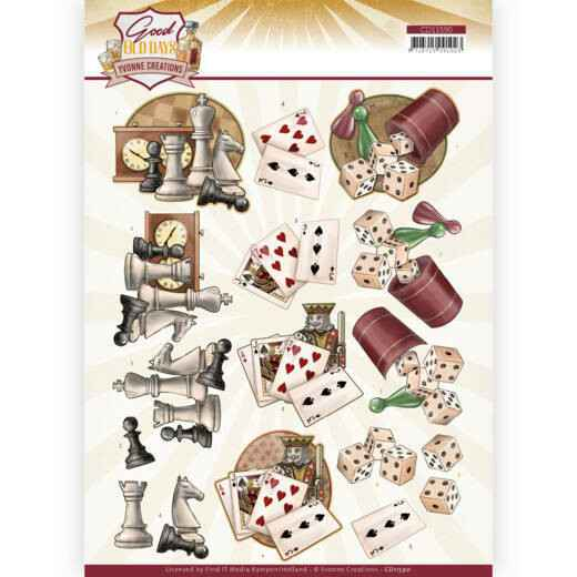 Yvonne Creations - Good old day's - Games    CD11590
