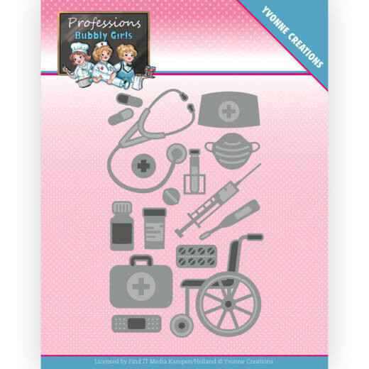 Yvonne Creations - Bubbly Girls - Professions - Healtcare  YCD10235