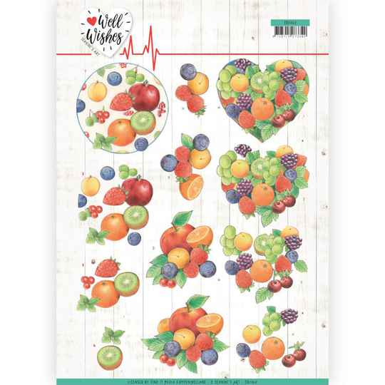 Jeanine's Art - Well Wishes - Fruits   CD11460