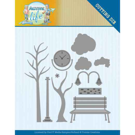Yvonne Creations - Active Life - Park Scenery  YCD10193