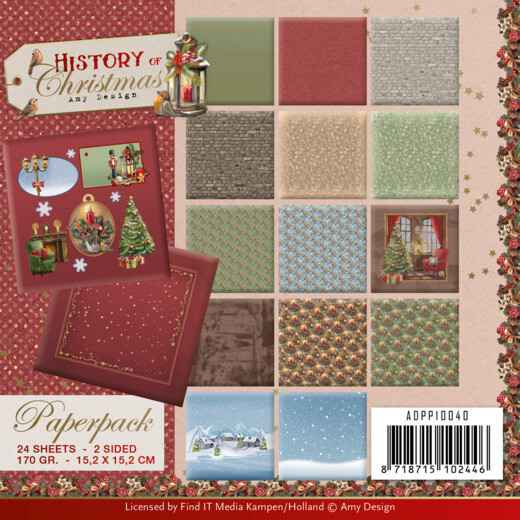 Paperpack - Amy Design - History of Christmas   ADPP10040