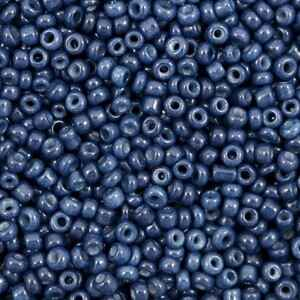 Rocailles 12/0 (2mm) Navy peony blue