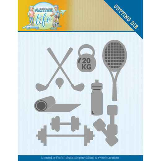 Yvonne Creations - Active Life - Active Sports  YCD10194