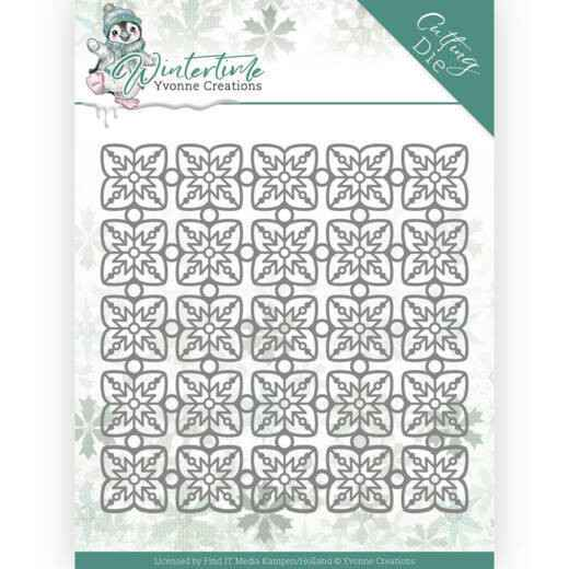 Yvonne Creations - Winter Time - Snowflake Pattern  YCD10214