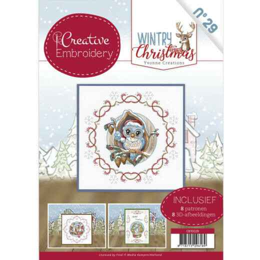 Creative Embroidery 29 - Yvonne Creations - Wintry Christmas  CB10029