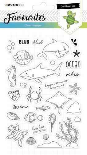 Clearstempel A5 Favourites nr 383 - STAMPSL383
