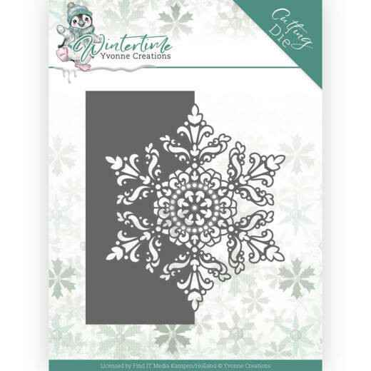 Yvonne Creations - Winter Time - Snowflake Border  YCD10215