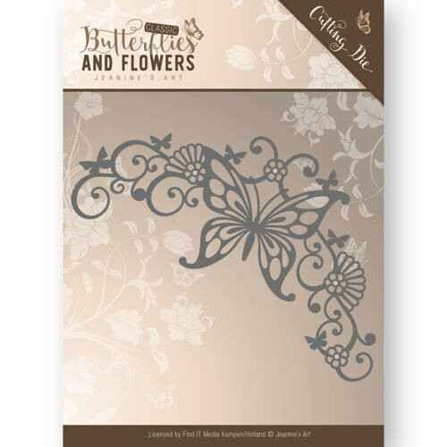Jeanine's Art - Butterflies and Flowers - Butterfly Corner  JAD10023