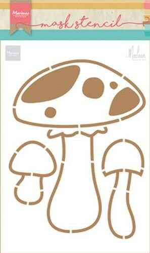 Mask stencil mushrooms by Marleen - PS8015