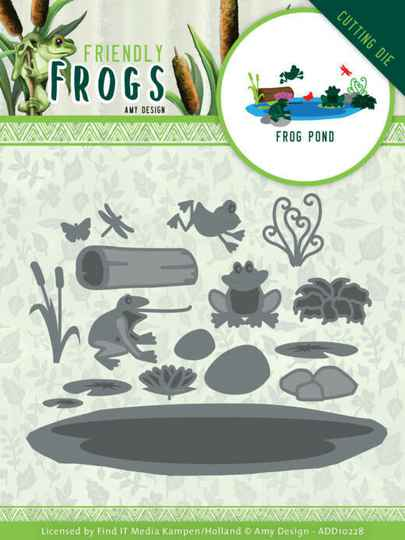 Amy Design - Friendly Frogs - Frog Pond   ADD10228