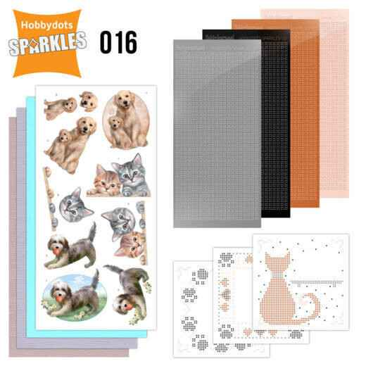Sparkles Set 16 - Cats & Dogs SPDO016