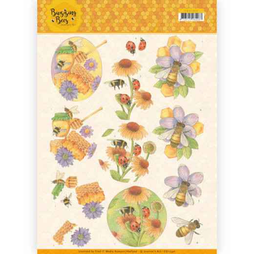 Jeanines Art - Buzzing Bees - Sweet Bees  CD11340