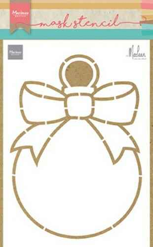 Craft stencil christmas bauble by Marleen - PS8017