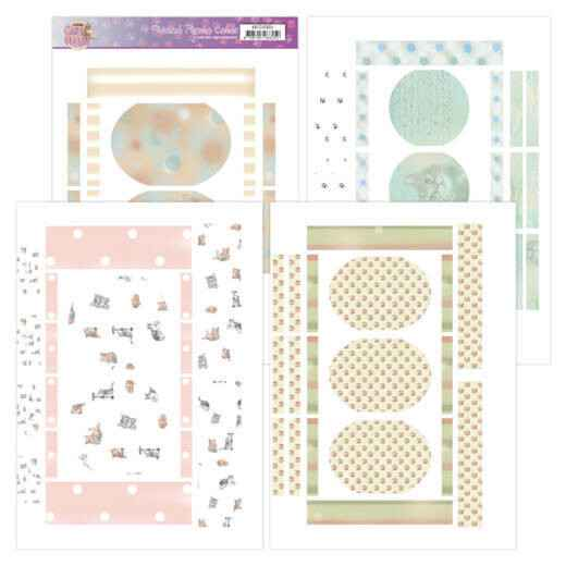 Printed Figure Cards - Amy Design - Cats World ADFC10004
