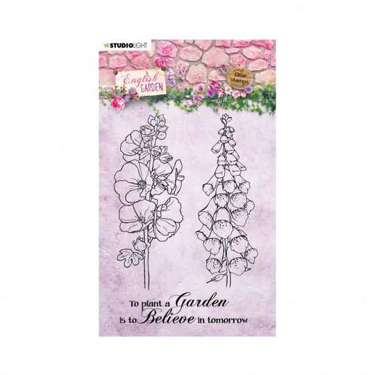 Studio Light • Clear stamp A6 English garden nr.432