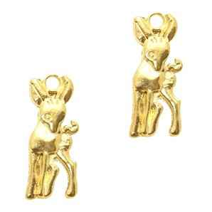 Basic quality metaal bedel deer goud