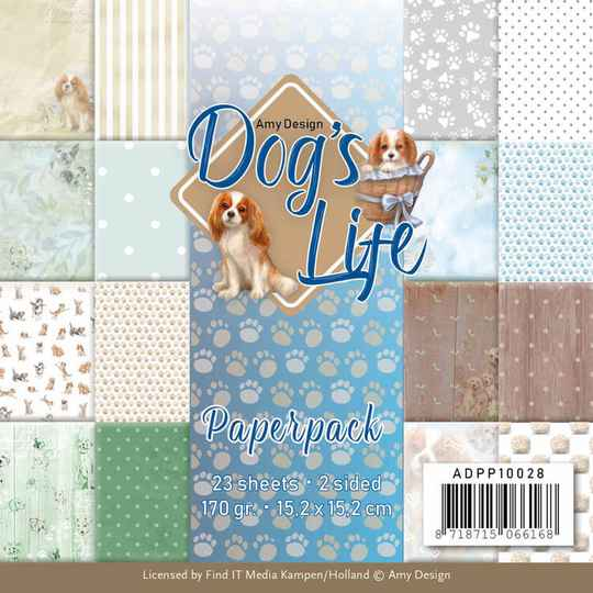 Paperpack - Amy Design - Dog's Life  ADPP10028