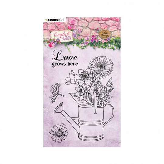 Studio Light • Clear stamp A6 English garden nr.430