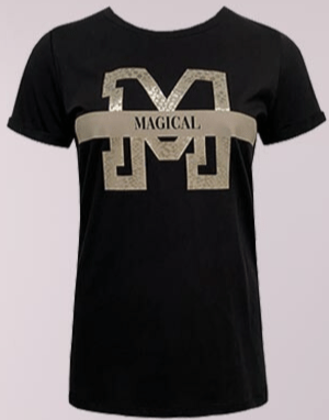T-shirt Mandy - Taupe Gold