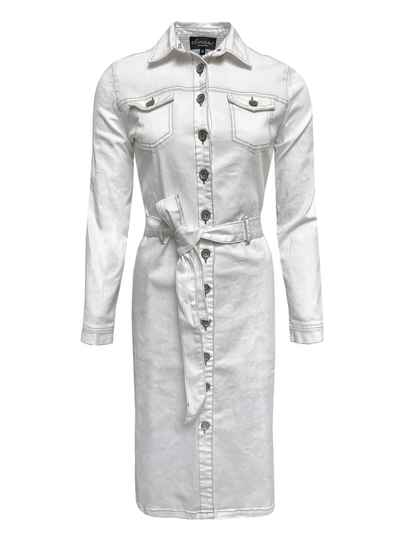 Jurk Indy - Denim White