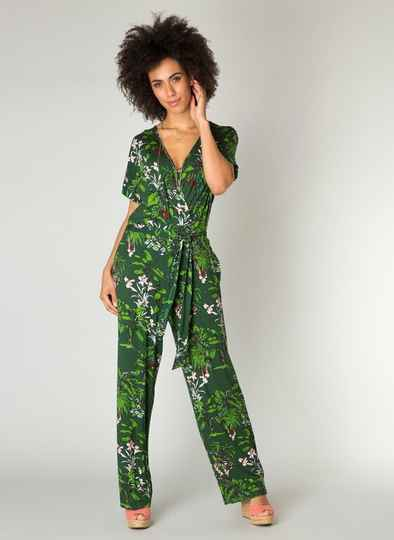 Jumpsuit Tropic - Green
