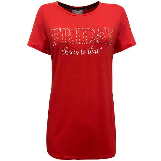 T-shirt Saar - Red