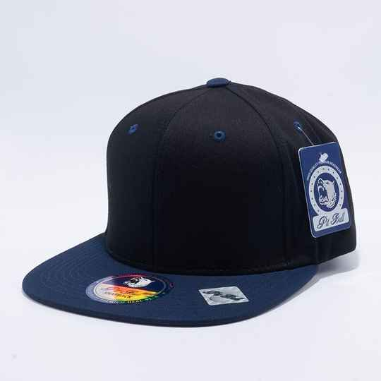 Black and blue pitbull cap