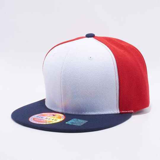 3 color 5 strip cap