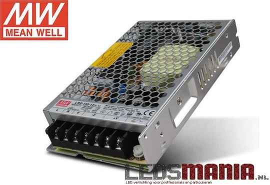 Mean Well professionele LED voeding 150W,12V