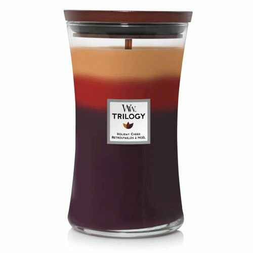 WoodWick Large Candle Holiday Cheer Trilogy