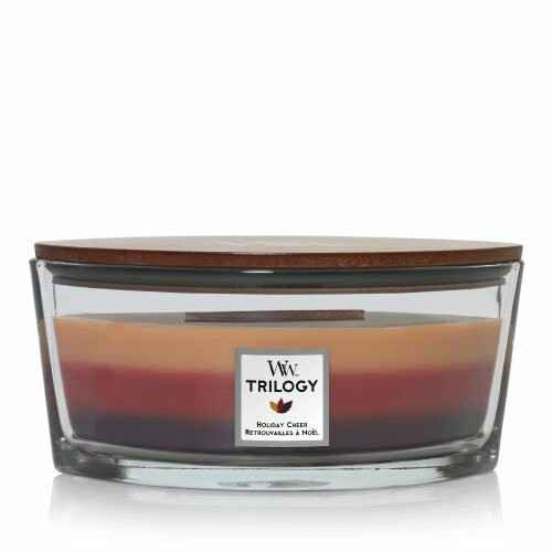 WoodWick Ellipse Candle Holiday Cheer Trilogy