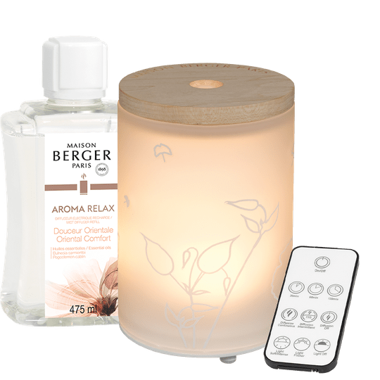 Mist Diffuser Aroma Relax - Lampe Berge
