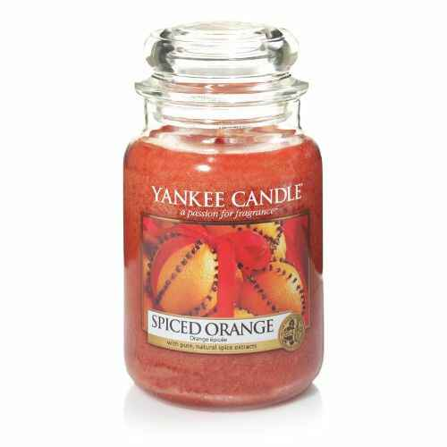 Yankee Candle Spiced Orange Large Jar Yankee Candle