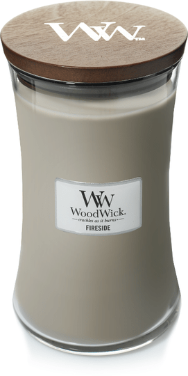 WoodWick Large Candle Fireside