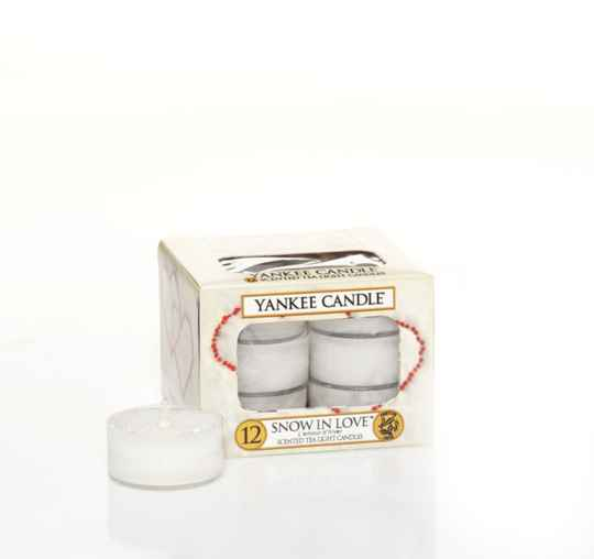Yankee Candle waxinelichtjes Snow in Love