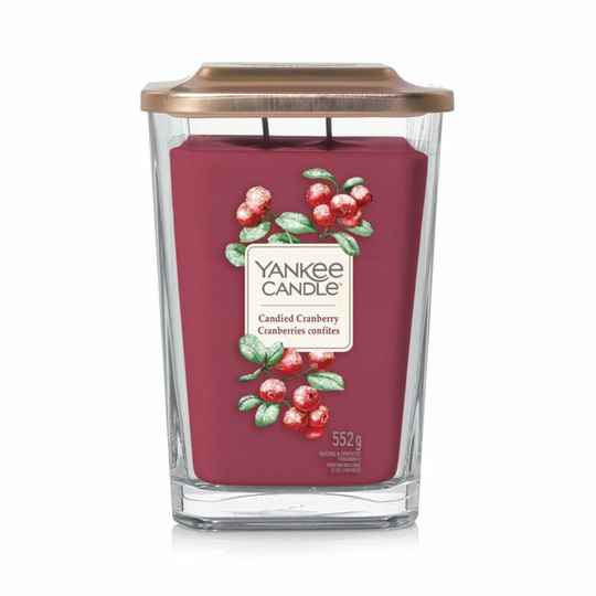 Yankee Candle Elevation Large Jar Candied Cranberry